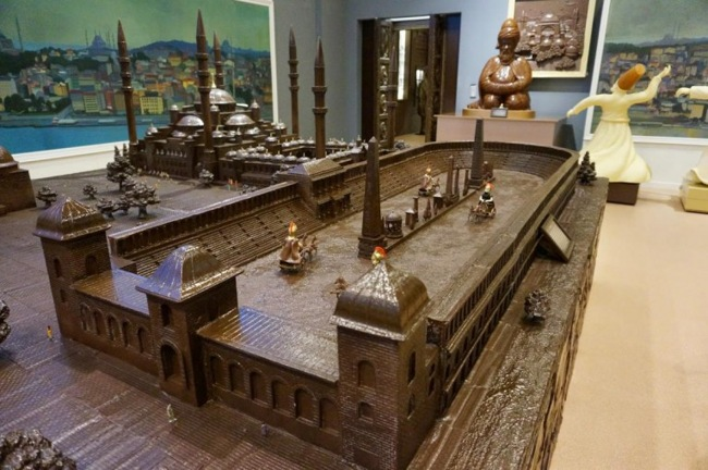 موزه شکلات استانبول Chocolate Museum، خوشمزهترین طعمسفر تفریحی
