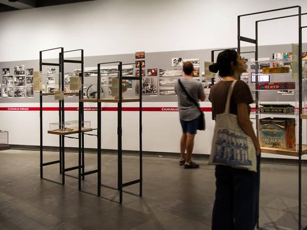 گالری سالت Salt galata استانبول، نمایشگاهی که به سختی از آن دل میکنید